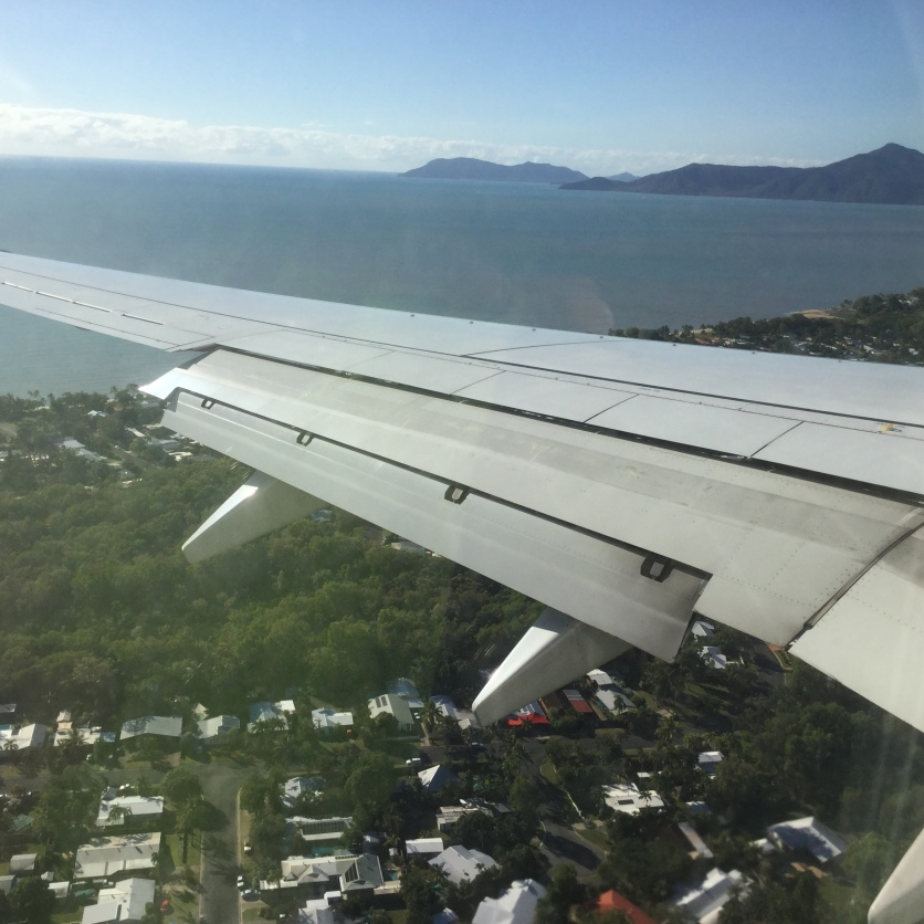 Off to Cairns