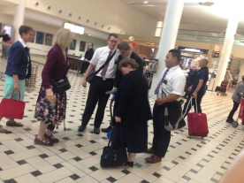 Elder Meyer finally arrives!