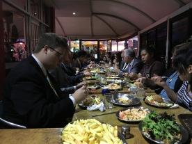 Dinner at Fish 53