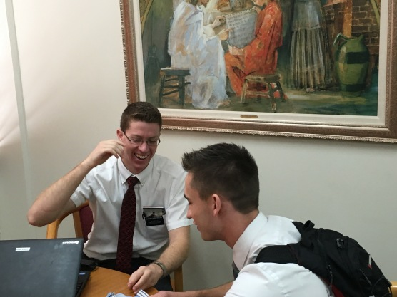 Elder Christensen & Elder Butterfield