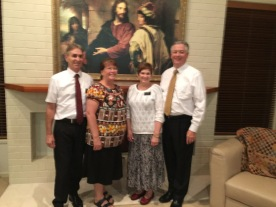 Our Fellow Mission Presidents off to Marshall Islands. Larkins