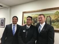 Elder Tiaihau with Companions, Elder Ika, Elder DeYoung