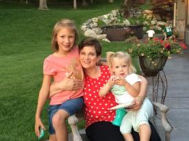 Abby, G'ma, & Halle