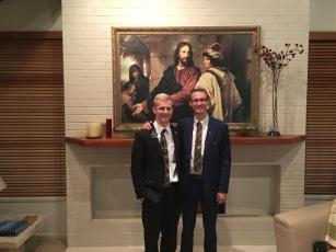 Elder Johnson and Elder Derhak ~ time to go home:(