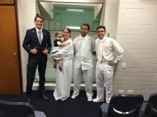 Baptism of Cassandra & Cameron Howe ~ Elders Nuttall & Nicotra ~ Jan 14, 2017