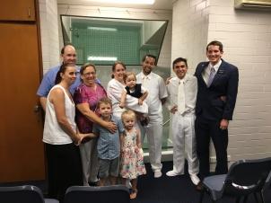 Baptism of Cameron & Cass Howe ~ Elders Nuttall & Nicatra ~ Jan. 14, 2017