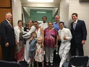 Baptism of Cassandra & Cameron Howe ~ Elders Nuttall & Nicotra ~ Jan. 14, 2017
