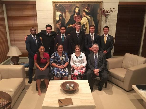 Returning Home Missionaries! Jan. 17, 2017