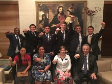 Elders: Cadeado, Lauaki, Andon, Zollinger, Elquist, and Spark. Sisters Li & Tuiala