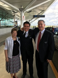 Elder Lauaki ~ wanted to have the airport scene!