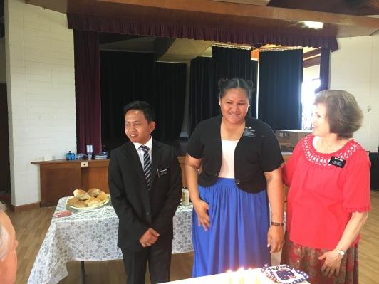 Townsville ~ Elder Panelo & Sister Alovao Birthdays w/ S Redd