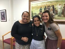 Sister Anitema, Robles, and Wengert