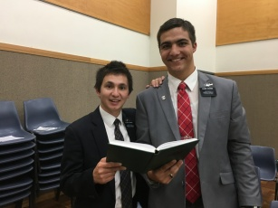 Elder Cadiang with Elder HoChing
