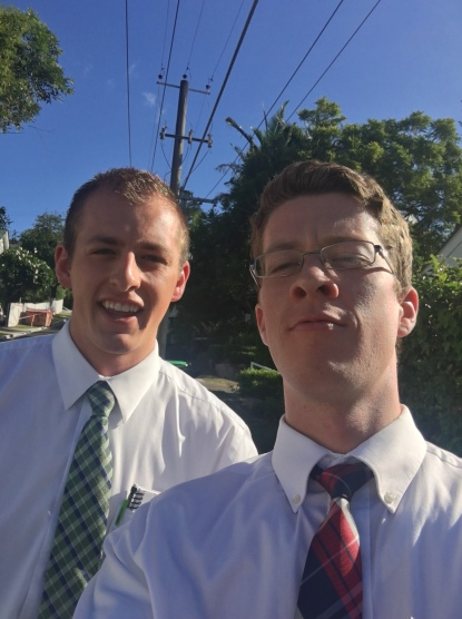 Selfie! Elders Moncur & Christensen