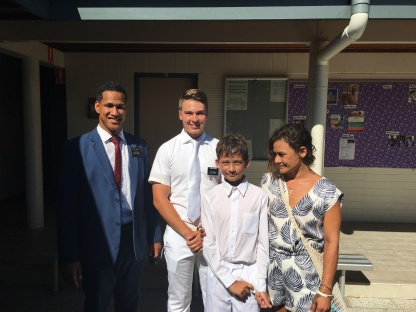 Baptism of Jacob Utz ~ Elders Tonga & Hansen ~ Feb. 11, 2017