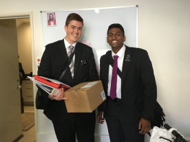 Elder Evans and Lal