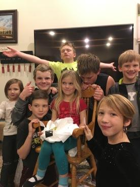 HAPPY BIRTHDAY BRYNLEY :) Allie, Mark, Malachi, Brigham, Isaac, Bryant, Bryn, and Abby
