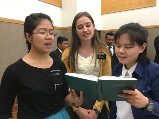 Sister Vichittavong, Sister Bowen & Sister Lui