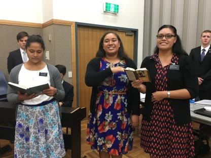 Sister Faulafo, Sister Ezekiela, & Tuatonga