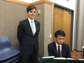 Elder Clawson & Elder Choi