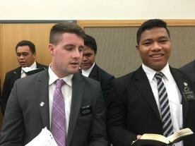 Elder Demke & Elder Faatoatoa