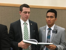 Elder Brimley & Elder Aspacio
