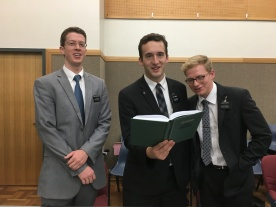 Office Elders Elder Christensen, Elder Morris, & Elde Banks