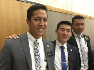 Elder Ho, Ahn, & Aspaciao