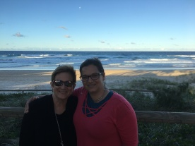 Mum and Daughter ~ Surfer's Paradise