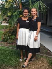 Sisters Fakatava & Doig