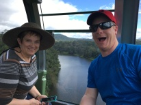 Mum and Son-in-Law - Gondola in Cairns