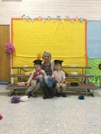 Jonah, Ashli, Leo Pre-School grads!