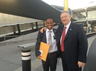 Elder Mthebela & President