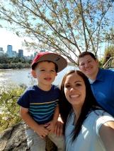 Trey, Melissa, & Trevor McSwain