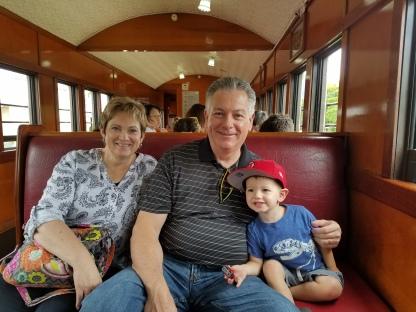 Train Ride with Trey