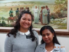 Sisters Teihoarii and Ruasu