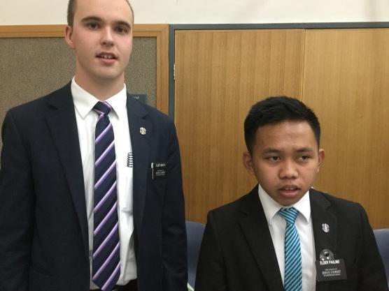 Elder Parry & Paulino