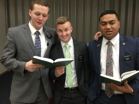 Elder Jackson, Smoot & Fukofuka ASSISTANTS