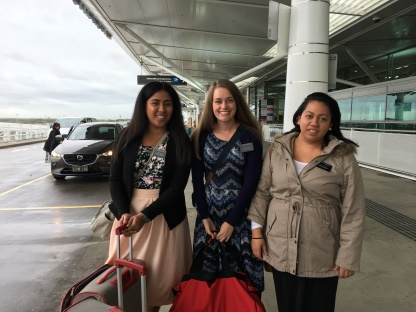 3 Sisters - 3 Different Countries going home to.