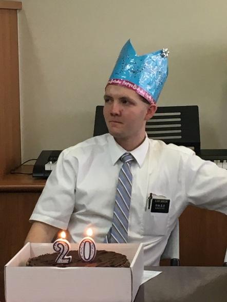 Elder Jackson ~ Birthday!