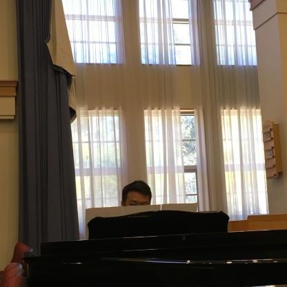 Elder Choi playing for Elder Pierce