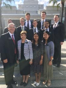 Elders Demke, Adams, Henson, Lambert, Young, SunChen, & Jackson