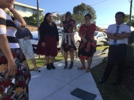 Sisters Tuala, Hargadon,& Ioane & Elder Caindoy