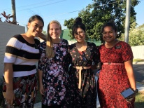 Sisters Aloua, Doig, Mitsuyama, and Tamanivalu