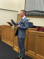 Elder Smoot ~ Training
