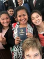 Sisters Alovao, Taamilosaga,& Liu
