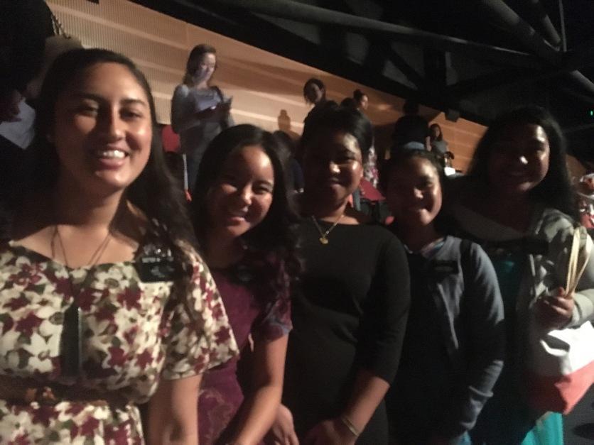 Sisters Wait-Cooper, Lilo , Tamanivalu, Fakatava, and Tuala