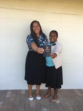 SISTERS EZEKIELA & HOIESI
