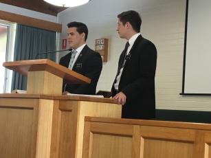 Elder Johnson and Pugsley ~ Training