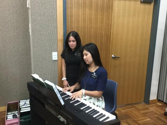 Sister Costa and Mitsuyama